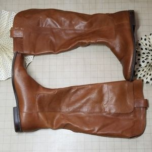 Mossimo Leather Knee High Boots size 9